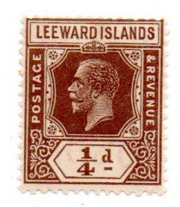 LEEWARD ISLANDS 61 MH SCV $2.50 BIN $1.25 ROYALTY