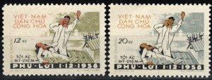 Vietnam #97-8  MNH CV $5.50  (X7740)
