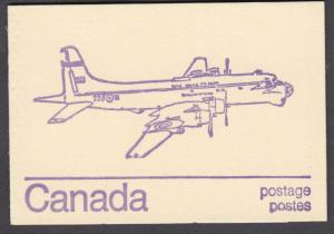 Canada - #586c,  BK76a Caricature Issue, Aircraft Cover - MNH