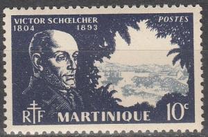 Martinique #198  MNH F-VF (SU6351)