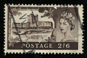 Queen Elizabeth II, 2/6, Great Britain (T-5998)