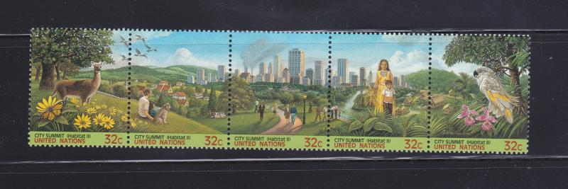 UN New York 682a Set MNH City Summit