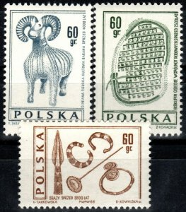 Poland #1461-3 MNH