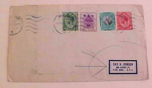 ORANGE FREE STATE MIXED SOUTH AFRICA  1932 TO USA