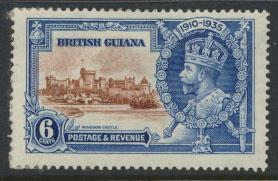 British Guiana SG 302 Mint Hinged  (Sc# 224 see details)  Silver Jubilee 1935