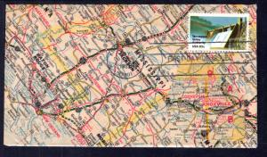 US 2042 TVA Map U/A FDC