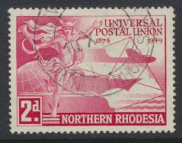 Northern Rhodesia  SG 50 SC# 50 Used see detail and scan
