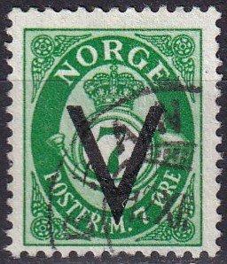Norway #211  F-VF Used  CV $6.00  (Z8086)