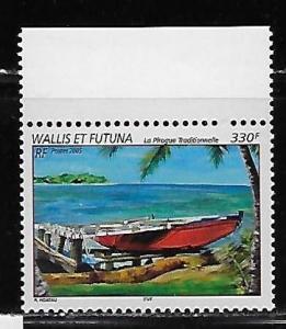 Wallis and Futuna Islands 599 Pirogue single MNH