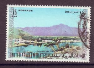 J20781 Jlstamps 1973 uae used #18 view