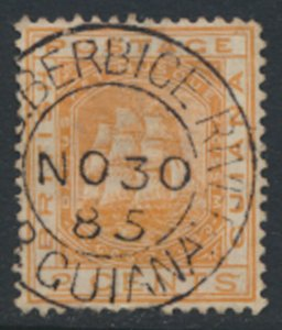 British Guiana SG 171  SC#108 Used perf 14 Wmk Crown CA see scans  / details