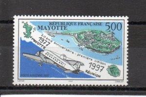 Mayotte C2 MNH
