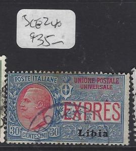 LIBYA   (P0809B)  EXPRESS  SC E2  VFU