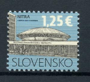 Slovakia 2017 MNH Cultural Heritage Nitra University 1v Set Education Stamps