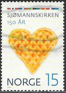 Norway 1729 Used - Norwegian Church Abroad, 150th Anniversary