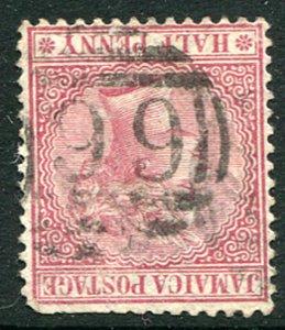 """JAMAICA (22584): Guys Hill """"199"""" numeral postmark/cancel"""