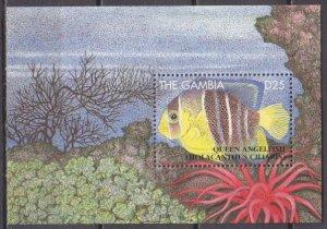 1995 Gambia 2083/B252 Sea fauna 11,00 €