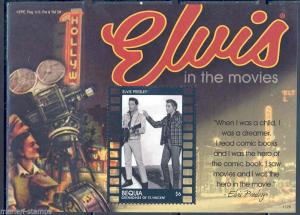 ST. VINCENT BEQUIA ELVIS PRESLEY IN KISSIN' COUSINS S/S PART I