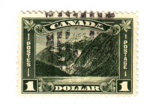 Canada Sc 177 1930 $1 Edith Cavell stamp used