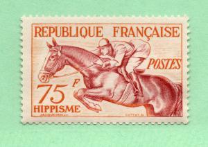 France - Sc# 705 MLH  /  Lot 1218063