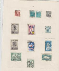 brasil 1946 stamps sheet ref 17811