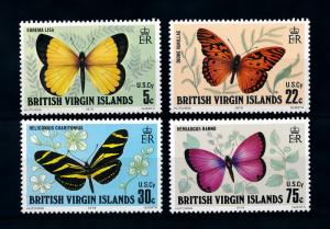 [98800] British Virgin Islands 1978 Insects Butterflies  MNH