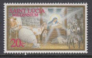 St Lucia 1111 Christmas MNH VF