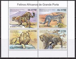 Sao Tome and Principe, Fauna, Animals. MNH / 2011