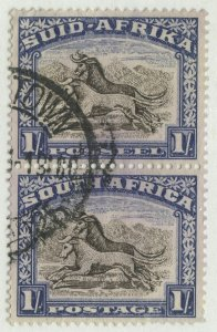 0209 South Africa, Scott #29, used, perf. 14, SCV = $87.50