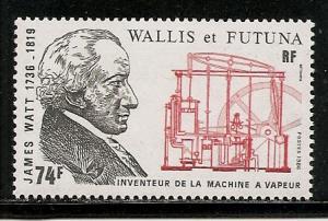Wallis and Futuna Islands 341 1986 Watt single MNH