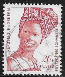 Senegal #1155 Used Stamp - Senegalese Fashion