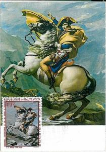 NAPOLEON : MAXIMUM CARD - HAUTE-VOLTA UPPER VOLTA 1969