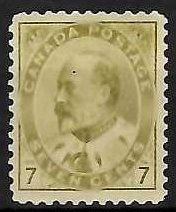 Canada #92i Mint VF LH C$500.00