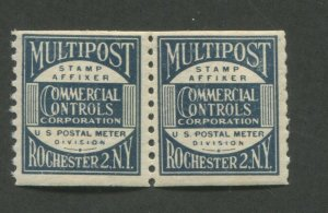 1944 United States Multipost Commercial Controls Test Stamp #TD88 Mint F/VF