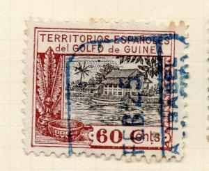 Spanish Guinea 1925 Early Issue Fine Used 60c. 203931