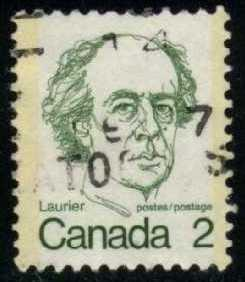 Canada #587 Sir Wilfrid Laurier, used (0.20)