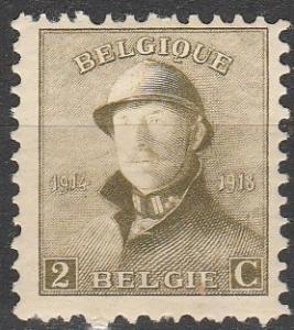Belgium #125 F-VF Unused (V3777)