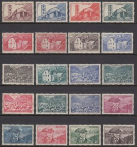 Andorra 85-104 mint