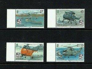 South Georgia: 2009, Centenary, Naval Aviation,  MNH set