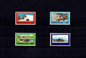 ANGUILLA - 1969 - SALT INDUSTRY - SALT POND ++ MINT - MNH - SET!