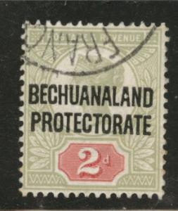 Bechuanaland Protectorate Scott 71 used Victoria stamp 1897
