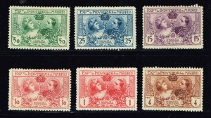 SPAIN STAMP 1907 Industrial Exhibition, Madrid MH/OG STAMPS LOT
