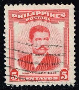 Philippines #592 Marcelo H. del Pilar; used (0.25)
