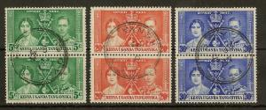 KUT 1937 Coronation Pairs Fine Used