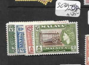 MALAYA MALACCA (P1201B) QEII SG 39-49  MOG