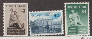 Belgium Scott #B495-B496-B497 Stamps - Mint Set