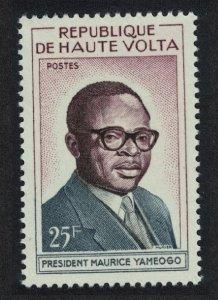 Upper Volta President Yameogo 1v 1960 MNH SG#86