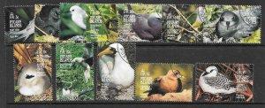 PITCAIRN ISLANDS SG462/73 1995 BIRDS FINE USED
