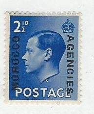 Great Britain offices in Morocco mnh sc 250