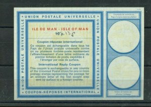 ISLE OF MAN 10p overprinted 13p C22 - International Reply Coupon IRC